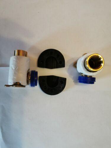 """Geberit Mepla Wandscheiben Set 1//2/"""" x 70 mm Meplafix mit Schallschutz OVP NEU"""