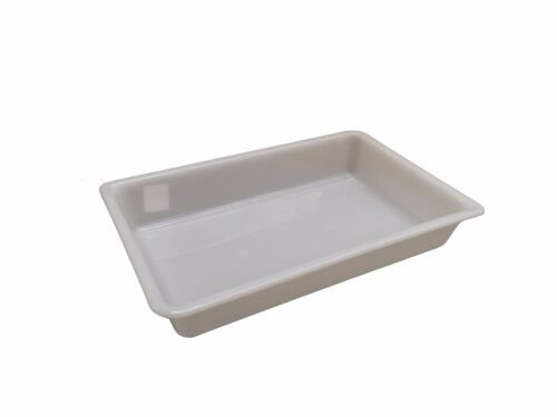 5 Sizes Commercial Display Boxes White Shallow Nesting Food Grade Storage Trays