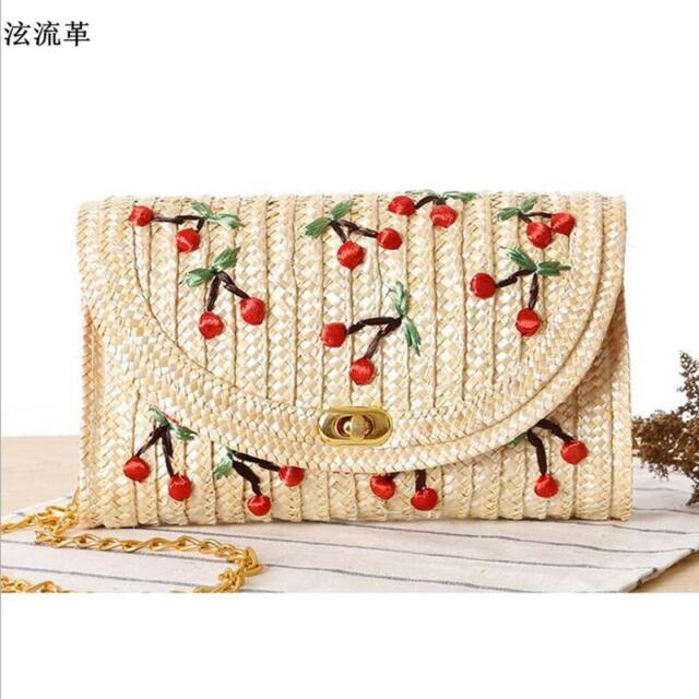 Buy Handwoven Straw Bag Women Rattan Beach Summer Shoulder Clutch ... 82aa980386f70