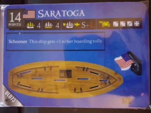 Pirates of the Revolution 073 Saratoga Pocketmodel CSG
