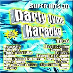 Various-Artists-Party-Tyme-Karaoke-Super-Hits-Vol-30-New-CD