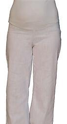 ~Umstandshose  DENIM Jeans ~ weißtöne~Gr.36,38,40,42,44,46,48,50,52,54,56,58
