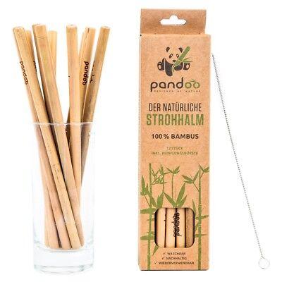 12 Stück Supplement Die Vitalenergie Und NäHren Yin GüNstiger Verkauf Strohhalme Aus Bambus Wiederverwendbare Trink-röhrchen