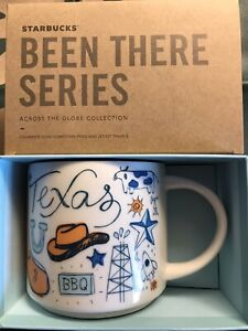 Starbucks Coffee Been There Series 14oz Mug TEXAS  Cup w/SKU