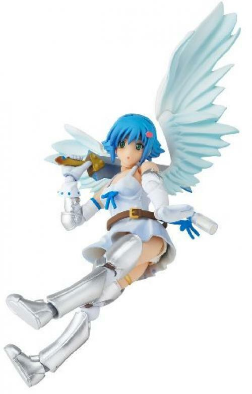 NEW Revoltech Queen's Blade No.004 Angel of Light Nanael Figure KAIYODO F/S