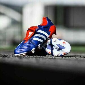 Adidas-Predator-Mania-bleu-homme-chaussures-de-football-UK-9-9-5-10-11