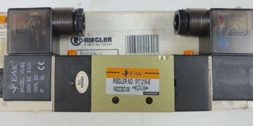 Details about  /NEW RIEGLER 517.215-E V5222E2-08 VALVE