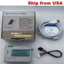 Xgecu Tl866ii Plus Programmer For Spi Flash Nand Eeprom Mcu Pic Avr Ship From Us