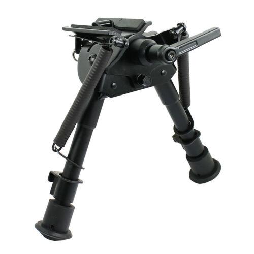 "Jagd 6  /""bis 9 /"" Adjustable Pivot//Rotating Spring Return Rifle Bipod"