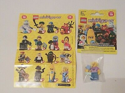 LEGO Collectible Minifigures SERIES 19 Bear Costume Guy  Figure  Adult Owned