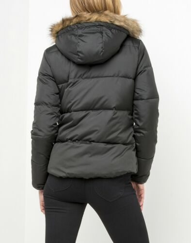 Parka Nieuw Jacket Black Jacket Warm Padded Fur Down Lee awRwqxA1