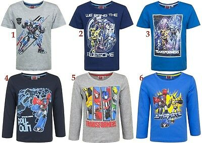 Transformers  Tracksuit boys Official 2-8 Years