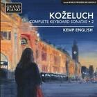 Sämtliche Klaviersonaten Vol.2 von Kemp English (2014)