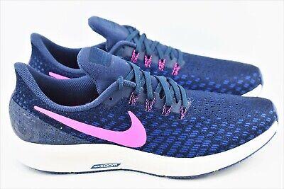 best website ee7a1 ae840 Womens Nike Air Zoom Pegasus 35 Size 10.5 Running Shoes Obsidian 942855 401  | eBay