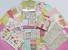 SIMPLE STORIES [SUNSHINE & HAPPINESS] 12x12 Paper & Embellishments  (C) Save 55%
