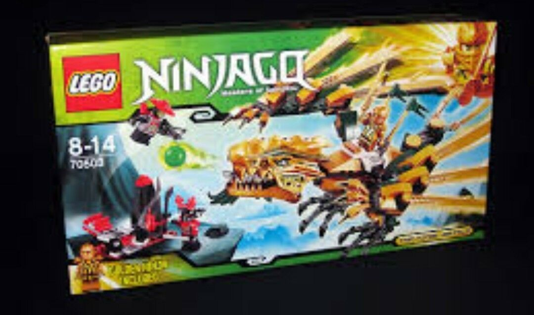 Lego ninjago 70503, complete set, instruction with box, mint condition