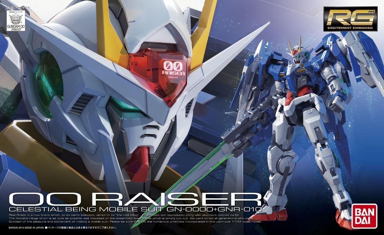Bandai 1  144 RG 018 GN -0000 GNR -010 00 Raiser