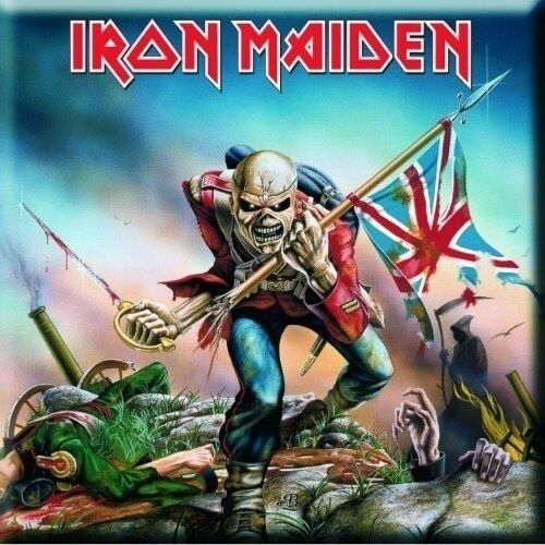 IRON MAIDEN - The Trooper  [Fridge Magnet]
