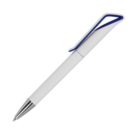 Farbe 10 Kugelschreiber weiß-blau
