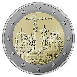 2 Euro LITUANIE 2020- Colline des Croix