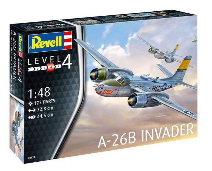 gran selección y entrega rápida Revell 1 1 1 48 A-26b Invader  03921  Más asequible
