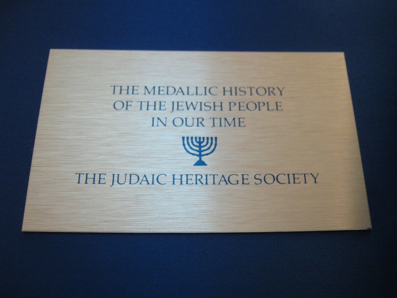 The Medallic History of The Jewish People In Our Time ,