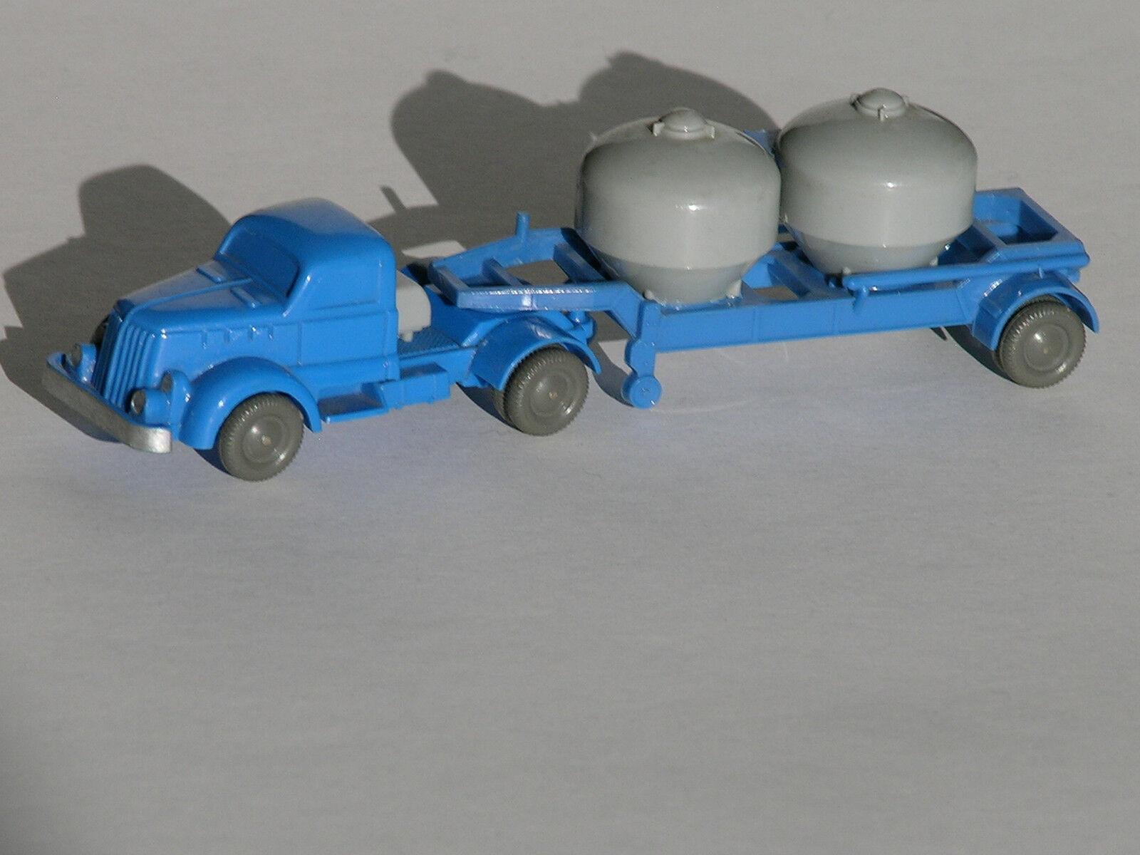 Ciment semi-remorque blanc TOP  530 camions Wiking vitres 1 87