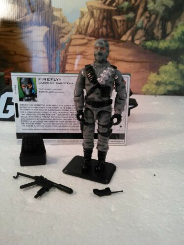 :100/% CMP 2005 Cobra Saboteur Comic Pack Exclusive FIREFLY v12