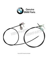 Bmw E3 E10 E12 1600 2002 Set Of Left And Right Complete Sunroof Cables Genuine