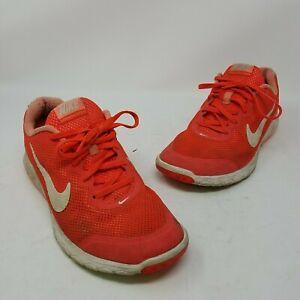 Nike Gray Orange Flex Experience Rn 4 Sneakers Size US 8 Regular (M, B)