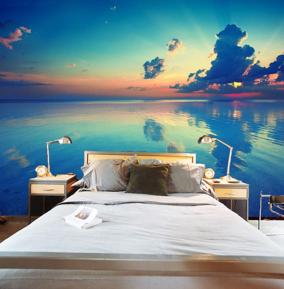 3D Beautiful Ocean Scenery739 Wall Paper Wall Print Decal Wall Deco Indoor Wall