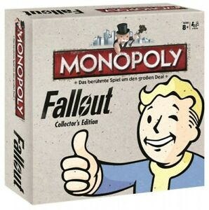 Monopoly-Limitierte-Fallout-Collector-039-s-Edition-Brettspiel-DEUTSCH-NEU