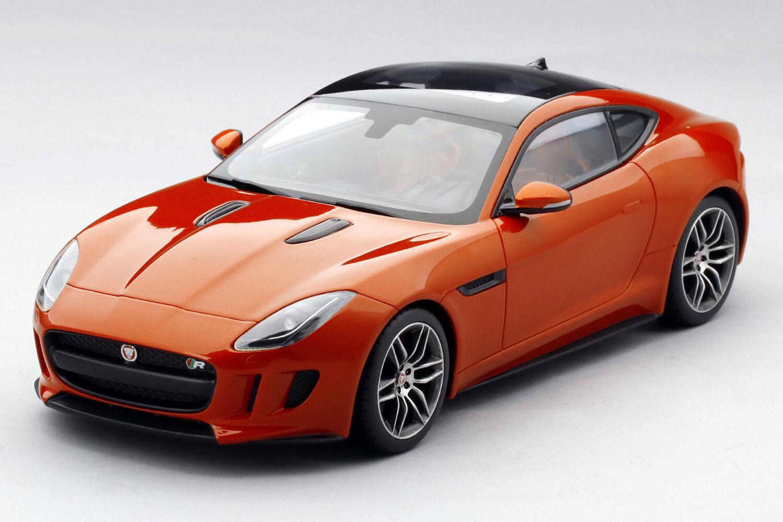 Ts0007 jaguar f - type r top - speed coupé firesand metallischen 1,18 skala harz - modell