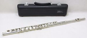 Yamaha yfl 221 student flute silver plated good condition for Yamaha yfl 221 student flute