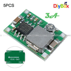 5Pcs-Mini-3A-DC-Adjustable-Converter-Step-Down-Buck-Power-Supply-Module-MP2307