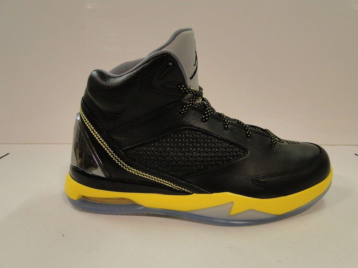 Nike air jordan volo remix mens basket stivali 679680 070 nero   giallo uk8.5 | Shopping Online  | Scolaro/Ragazze Scarpa