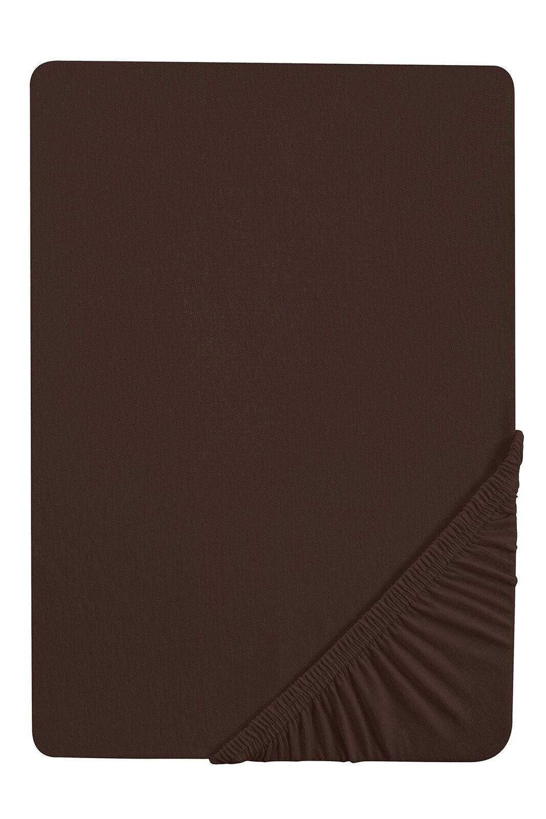 Biberna 77155 Jersey Stretch Fitted Sheet According to ÖKo-Tex Standard 100, ...