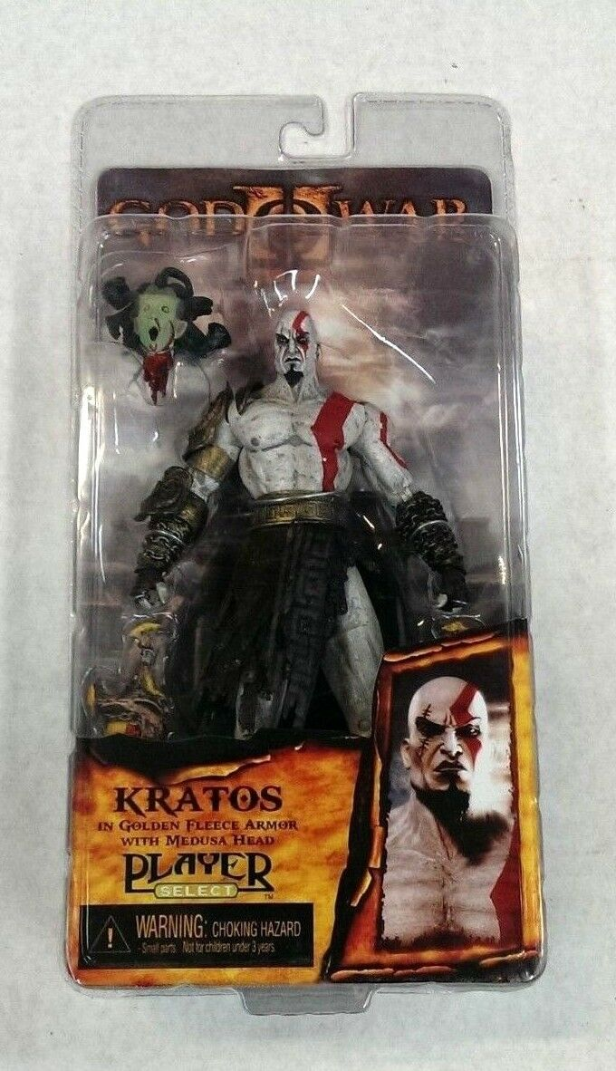 God of War - KRATOS - Action Figure by NECA (Player Select) PLAYSTATION 2