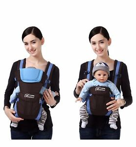 Details About Adjustable Infant Baby Carrier Sling Wrap Baby Bjorn Carrier Backpack Breathable