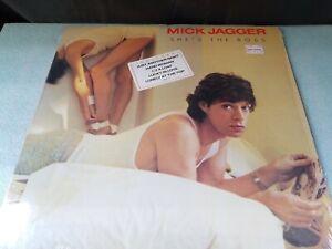 MICK JAGGER She's the Boss (Vinyl LP 1985 Columbia USA)