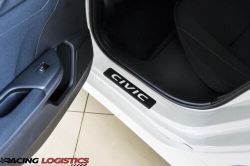 HONDA CIVIC MK 10 X DOOR SILL CARBON FIBER LX EX EX-T EX-L TOURING 1.0 1.5 VTEC