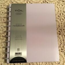 50-Sht TUL Custom Note-Taking System Discbound Refill Pages Dot Grid Letter