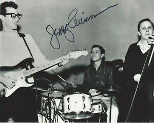DRUMMER JERRY ALLISON - BUDDY HOLLY & THE CRICKETS - SIGNED 8x10 PHOTO C w/COA | eBay