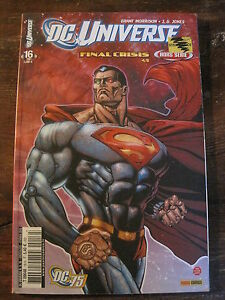 DC Universe #16 Final Crisis 4/5 DC Comics 2010 French Lang.