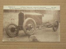 Carte Postale Ancienne Automobile G LAMBERT à MACON  An 20 brochure catalogue