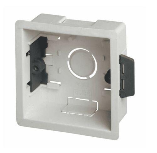 Dry Lining Back Box// Pattress Box 35mm 1 Gang X 20.Click Scolmore WA087P.