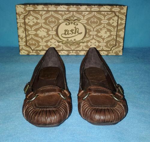 P Fr En Ash Ballerines Cuir Chaussures Neuve Comme 36 zgBqw