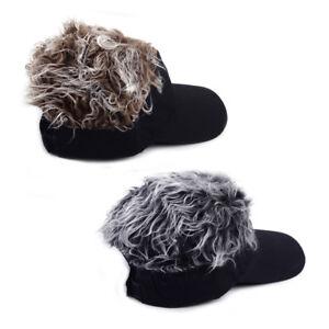 5d4e6c81fa2 Unisex Adjustable Toupee Wig Baseball Hat Hook With Loop Sun Visor ...