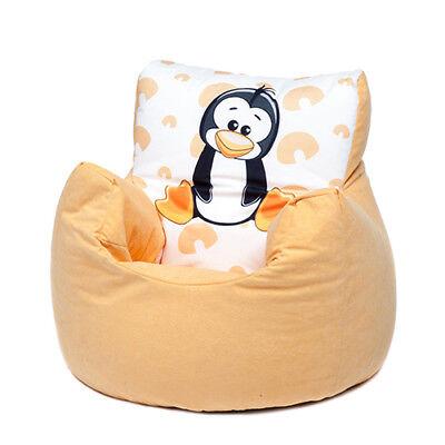 Penguin Childrens Character Filled Beanbag Kids Bean Bag
