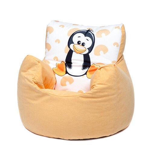 Penguin Childrens Character Filled Beanbag Kids Bean Bag Chair